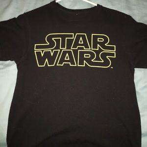 Star wars cropped shirt